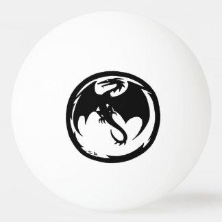 Bola preta do pong do sibilo da estrela do dragão