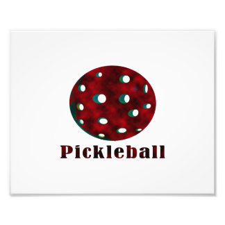bola vermelha nublada pickleball .png do texto n fotografia