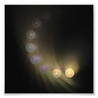 bolas deixando cair impressão de foto