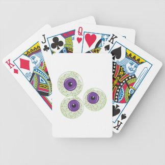 Bolas do olho jogos de cartas
