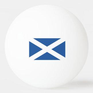 Bolas do pong do sibilo da bandeira de Scotland