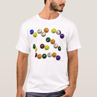 Bolas e feltro t-shirt