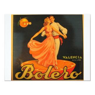 Bolero Convite 10.79 X 13.97cm