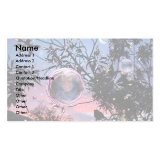 Bolhas da fada da véspera de plenos Verões! Cartão De Visita