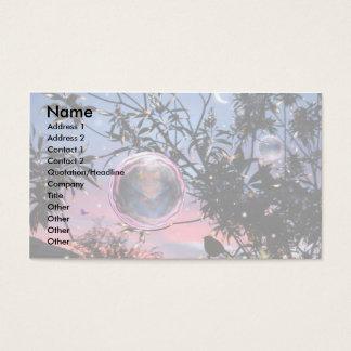 Bolhas da fada da véspera de plenos Verões! Cartão De Visitas