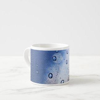 Bolhas de ar xicara de café expresso