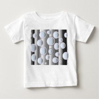 Bolhas paralelas camiseta para bebê