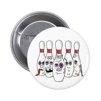 Boliche engraçada botons
