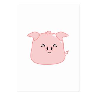 Bolinha de massa da carne de porco cartões de visita