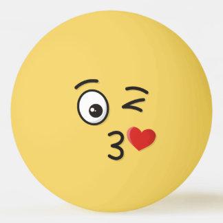 Bolinha De Ping Pong Cara que joga um beijo