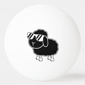 Bolinha De Ping Pong Desenhos animados bonitos das ovelhas negras