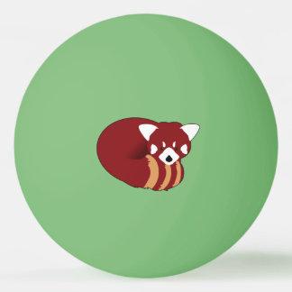Bolinha De Ping Pong Panda vermelha