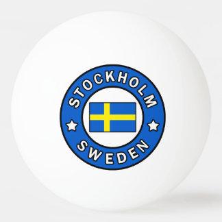 Bolinha De Ping Pong Suecia de Éstocolmo