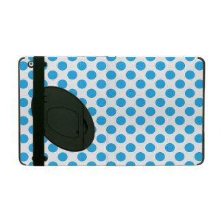 Bolinhas azuis capas iPad