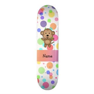 Bolinhas conhecidas personalizadas do arco-íris do skate