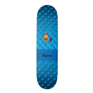 Bolinhas conhecidas personalizadas do azul do bomb skateboard