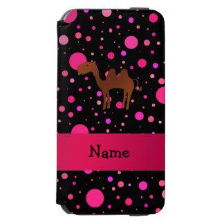Bolinhas conhecidas personalizadas do rosa do