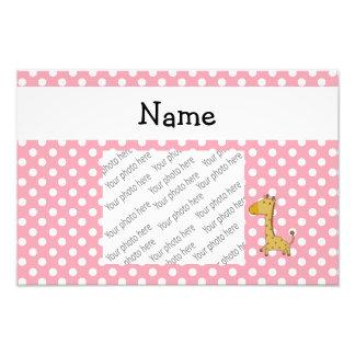 Bolinhas conhecidas personalizadas do rosa do gira fotos