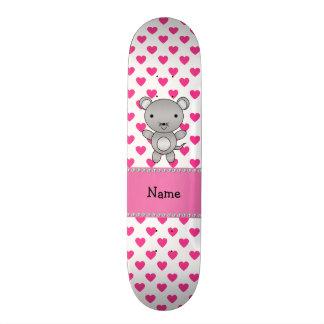 Bolinhas conhecidas personalizadas dos corações do shape de skate 19,7cm