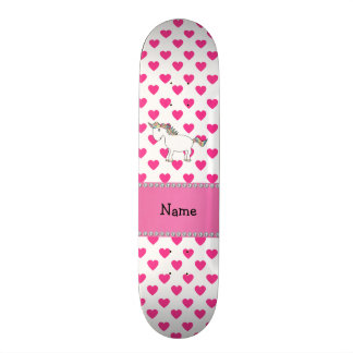 Bolinhas conhecidas personalizadas dos corações do shape de skate 18,7cm