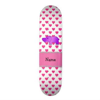 Bolinhas conhecidas personalizadas dos corações do skate