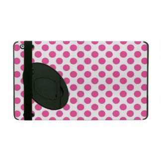 Bolinhas cor-de-rosa capa iPad