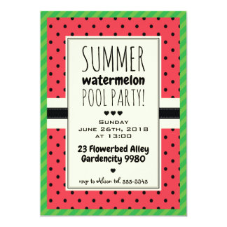 Bolinhas do convite da festa na piscina do verão
