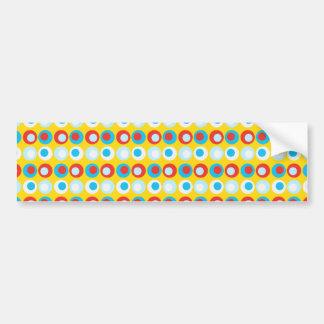 Bolinhas do partido adesivo para carro
