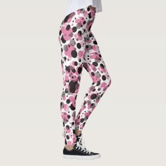 Bolinhas dos doces leggings