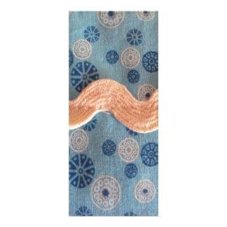 bolinhas em branco e azul convites personalizados