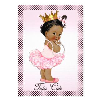 Bolinhas étnicas bonitos da princesa Pérola do Convite 12.7 X 17.78cm