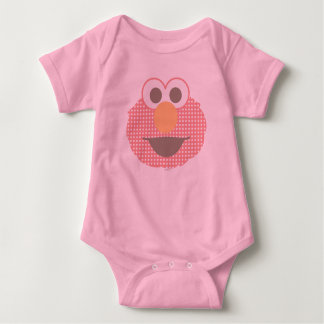 Bolinhas grandes da cara de Elmo do bebê Body Para Bebê