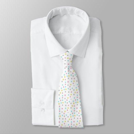 Bolinhas Pastel Gravata