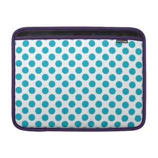 Bolinhas profundas do Aqua Bolsas Para MacBook Air