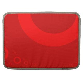 BOLINHAS VERMELHAS GRANDES BOLSA PARA MacBook