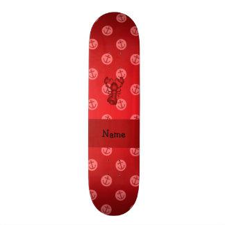 Bolinhas vermelhas personalizadas da âncora da lag skates personalizados