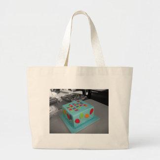 Bolo de aniversário bolsa para compras