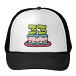 Bolo de aniversário das pessoas de 33 anos bone