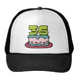 Bolo de aniversário das pessoas de 36 anos bones