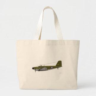 Bolo de Douglas B-18B Sacola Tote Jumbo