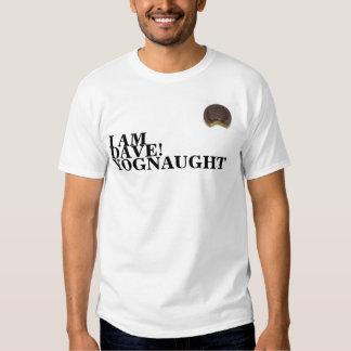 bolo de jaffa, EU SOU, DAVE! , YOGNAUGHT T-shirts