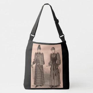 Bolsa Ajustável 1895 senhoras casaco e vestido do impressão do