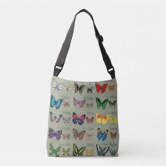 Bolsa Ajustável 30 espécies da borboleta de todo o mundo
