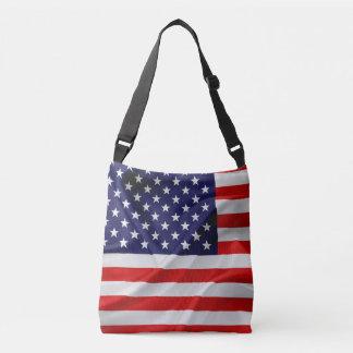 Bolsa Ajustável A bandeira dos Estados Unidos da América