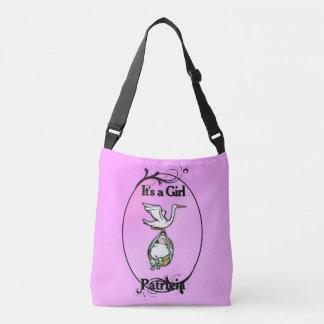 Bolsa Ajustável A cegonha leva um bebé