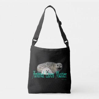 """Bolsa Ajustável """"A matéria das vidas animais"""" sela o saco para o"""