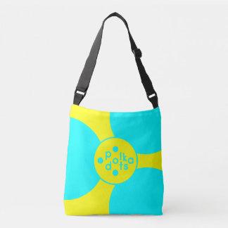 Bolsa Ajustável A turquesa & amarela toda sobre - imprima o saco