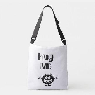 Bolsa Ajustável Abrace-me cruzam sobre o saco para o transporte de