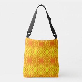 Bolsa Ajustável Abstrato do amarelo alaranjado das vaga de calor
