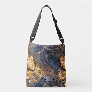 Bolsa Ajustável Abstrato marmoreado 2 do latido de árvore